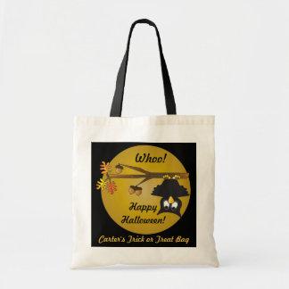 Personalize Halloween Treat Bag