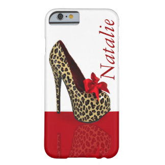 Personalize Heels Design Barely There iPhone 6 Case