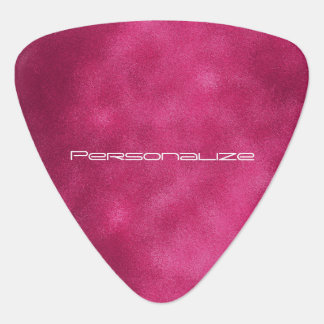 Personalize Hot Pink Smudge Pick