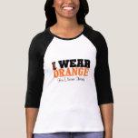 Personalize I Wear Orange Ribbon Leukaemia