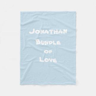 "Personalize ""Jonathan Bundle of Love"" Blankets"