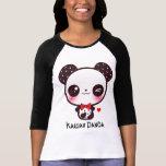 Personalize Kawaii panda T Shirts