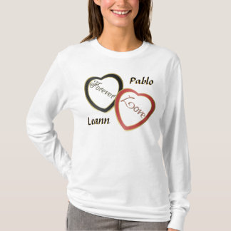 Personalize Ladies Long Sleeve T-Shirt