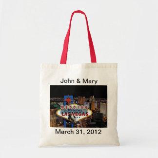 Personalize Las Vegas Wedding Bag