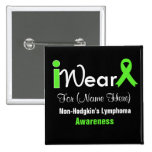 Personalize Lime Green Non-Hodgkin's Lymphoma
