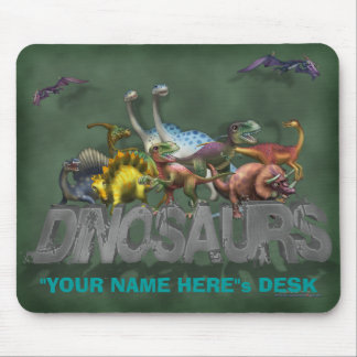 """Personalize Me!"" Dinosaurs Mouse Pad"