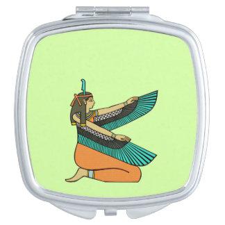 Personalize Me! Egyptian Goddess Mirror Travel Mirrors