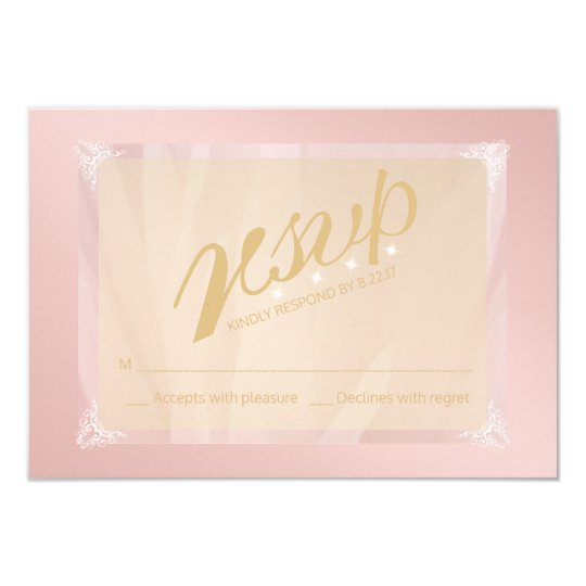 Personalize Monogram RSVP Card