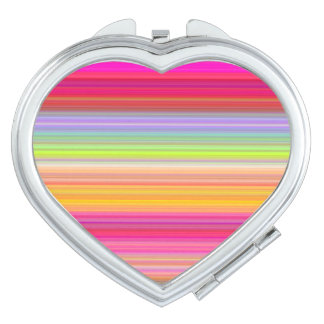 Personalize - Multicolor gradient background Compact Mirror