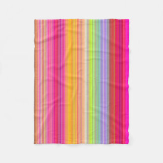 Personalize - Multicolor gradient background Fleece Blanket