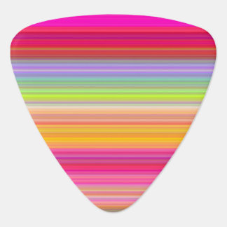 Personalize - Multicolor gradient background Guitar Pick