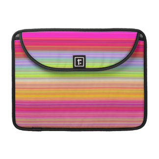 Personalize - Multicolor gradient background Sleeve For MacBooks