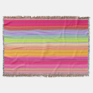 Personalize - Multicolor gradient background Throw Blanket