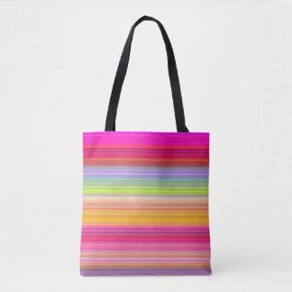 Personalize - Multicolor gradient background Tote Bag
