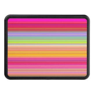 Personalize - Multicolor gradient background Trailer Hitch Cover
