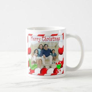 Personalize Names & Photo Christmas Mug