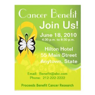 Personalize Neuroblastoma Fundraising Benefit Custom Flyer