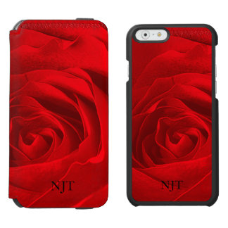 Personalize: Photography - Red Rose Abstract Incipio Watson™ iPhone 6 Wallet Case