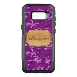 Personalize - Purple Camouflage OtterBox Commuter Samsung Galaxy S8+ Case