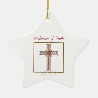 Personalize, RCIA Blessings on Profession of Faith Ceramic Ornament