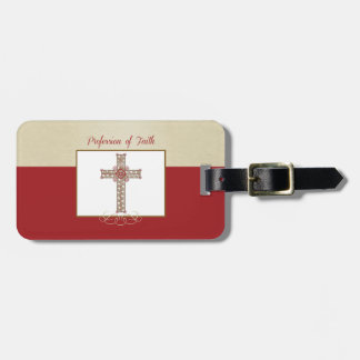Personalize, RCIA Blessings on Profession of Faith Luggage Tag