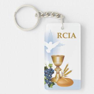 Personalize, RCIA Congrats Catholic Sacrament Keychain