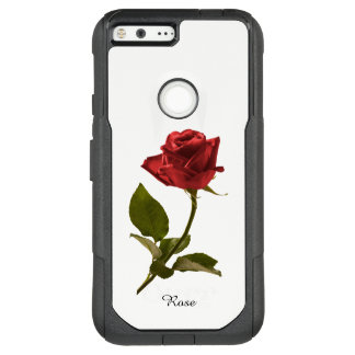 Personalize:  Red Rose Nature Photography OtterBox Commuter Google Pixel XL Case