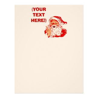 Personalize Santa Claus Letterhead Design
