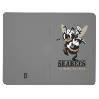Personalize Seabees We build We Fight Notebook