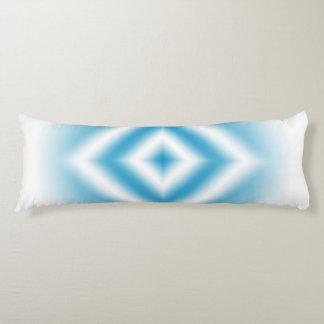 Personalize-sky blue diamond gradient body pillow