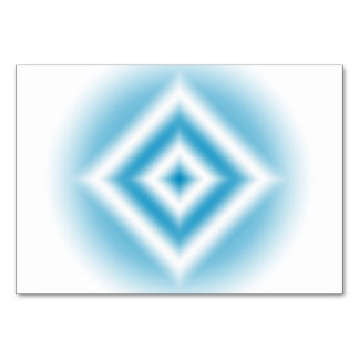 Personalize-sky blue diamond gradient card