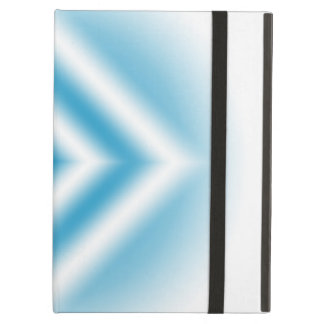 Personalize-sky blue diamond gradient iPad air case