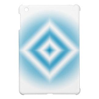 Personalize-sky blue diamond gradient iPad mini cases
