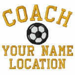 Personalize Soccer Coach Your Name Your Game! Jacket