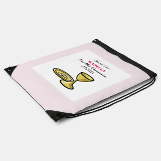 Personalize, Special Girl, First Communion Drawstring Bag