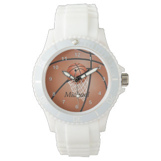 Personalize Sporty Basketball Watch