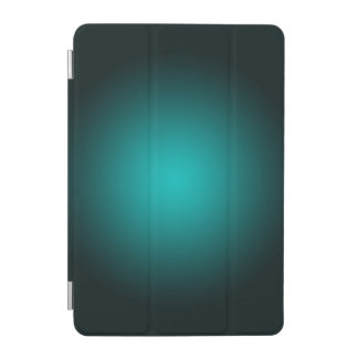 Personalize - Teal ombre gradient background iPad Mini Cover