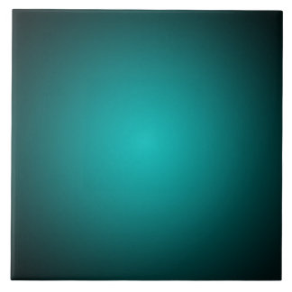 Personalize - Teal ombre gradient background Tile