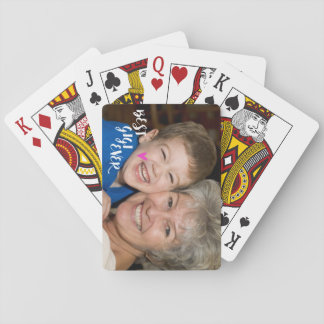 Personalize These Cards! Best Gigi Ever. Poker Deck