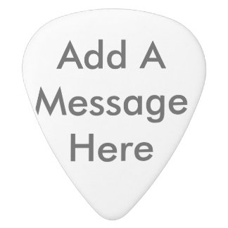 Personalize this blank guitar pick