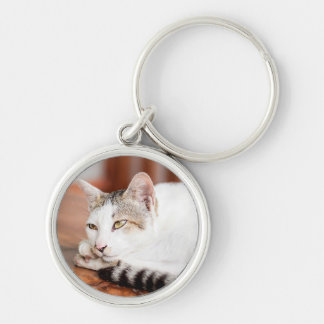 Personalize this Cute Cat Key Chain with your Cat
