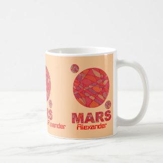 Personalize This Geek Chic Red Planet Art Mars Mug