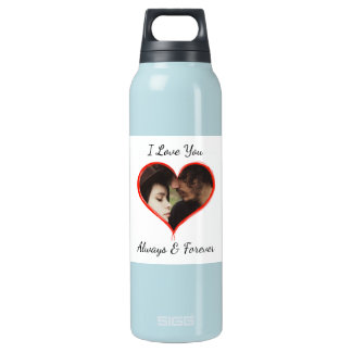 Personalize this Photo Water Bottle
