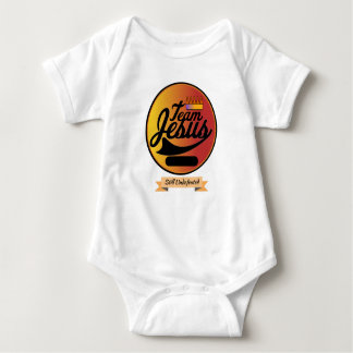 Personalize This Team Jesus Jersey Baby Bodysuit
