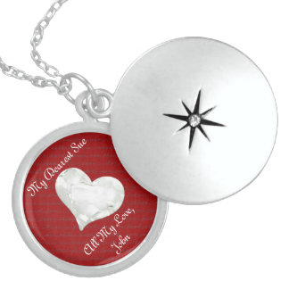 Personalize Winter Romance Necklace
