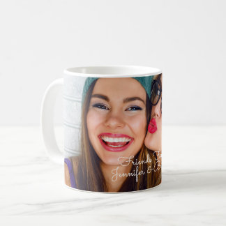 Personalize with your photo & names coffee mug