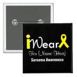 Personalize Yellow Ribbon Sarcoma