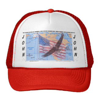 PERSONALIZE YOUR EAGLE HAT