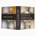Personalize your own family recipe binder