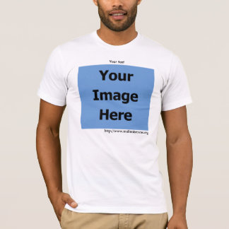 Personalize, Your Rescue's Photo, Light T-shirt